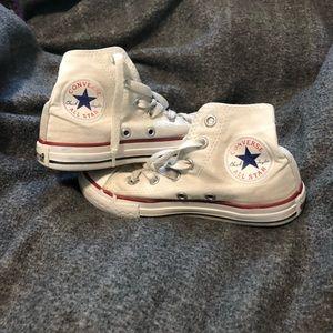White Converse Girls